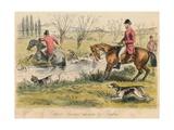 Captain Spurrier Cut Down by Romford  1865