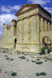 Back of Temples  Sbeitla  Tunisia