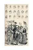 Caricatures of Members of the National Conference at Frankfort and of the Prussian Kreuz-Zeitung P