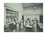 The Washing Room  Battersea Polytechnic  London  1907