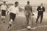 The Duke of York  Charity Football Match  Tottenham Hotspurs and Corinthians  C1921