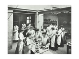 General Cookery Class  National Training School of Cookery  London  1907