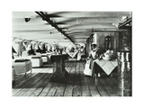 A Copy of a Photograph of the Ward Deck of the Atlas Smallpox Hospital Ship  C1890-C1899