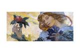 Untitled, C1880-1930 Giclée par Alphonse Mucha