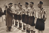King George Vi and Queen Elizabeth Attend the Association Football Cup Final  1937