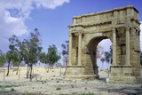 Triumphal Arch  Sbeitla  Tunisia