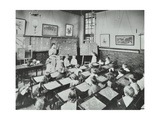 Classroom Scene  Southfields Infants School  Wandsworth  London  1907