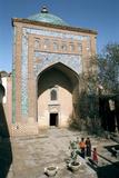 Mausoleum of Pahlavan Mahmud  Khiva  Uzbekistan