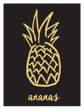 Ananas Black & Gold