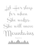 Let Her Sleep Mountains Gray