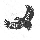 Eagle Lettering Composition