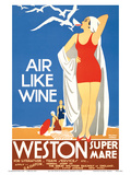 Air Like Wine - Weston Super Mare Railway Station