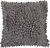 Perfect Petal Down Fill Pillow - Charcoal