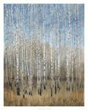 Dusty Blue Birches II