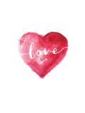 Love Heart Cursive