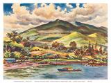 Beautiful Hana - The Island of Maui - Hawaii  USA - United Air Lines