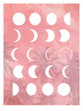 Moon Phases Pink