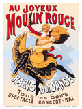 Au Joyeux Moulin Rouge (Happy at the Moulin Rouge)