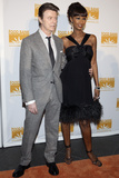 "David Bowie and Iman at Food Bank for New York City's 5th Annual ""Can-Do"" Dinner  NYC  2007"