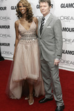 Iman and David Bowie at 2006 Glamour Women of the Year Awards  New York  2006