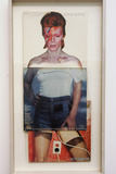 "David Bowie's Albums by Artist Christan Marclay  part of series ""Body Mix""  Chicago  2007"
