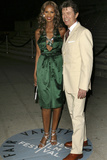 Iman and David Bowie at Vanity Fair Tribeca Film Festival Party  2007