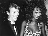 David Bowie with Iman  1991