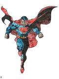 Superman Mixed Media Design