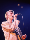 David Bowie Performing in New York  1978