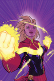 Captain Marvel No 12 Cover
