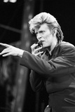 David Bowie Performs at Wembley Stadium  1987