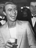 David Bowie at Party During Cannes 31st International Film Festival  1978