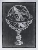 Armillary Sphere on Charcoal II