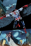 All-New Captain America: Fear Him No 1 Cover  Featuring: Falcon Cap