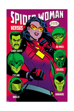 Spider-Woman No 7 Cover  Featuring: Spider Woman  Senor Suerte  Cyclone  Big Wheel and More