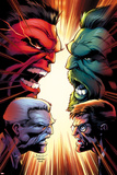 Hulk No 15 Cover  Featuring: Hulk  Red Hulk  Bruce Banner  Thunderbolt Ross