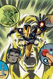 Original Sin No 32 Cover  Featuring: Iron Man  Hulk  Bruce Banner