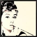 Just Smokin Audrey Hepburn
