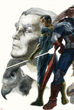 All-New Captain America:Fear Him No 3 Cover  Featuring: Ian Zola   Falcon Cap  Redwing and More