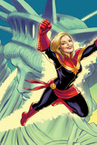 Captain Marvel No 15 Cover