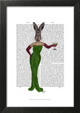 Rabbit Green Dress