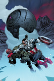 All-New Captain America No 3 Cover  Featuring: Falcon Cap  Sin