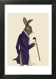 Hare In Purple Coat