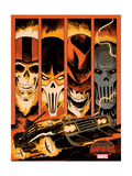 Marvel Secret Wars Cover  Featuring: Ghost Rider