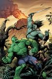 Hulk No 7 Cover  Featuring: Skaar  Hulk