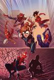 Spider-Verse Team-Up No 3 Cover  Featuring: Spider-Girl  Spider-UK  Ashley Barton  Spider-Punk