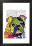 Patchwork Bulldog