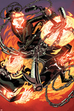 All-New Ghost Rider No 8 Cover  Featuring: Ghost Rider  Eli Morrow