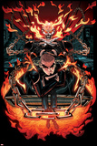 All-New Ghost Rider No 7 Cover  Featuring: Ghost Rider  Robbie Reyes
