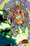 Marvel Secret Wars Cover  Featuring: MODOK  Baron Mordo
